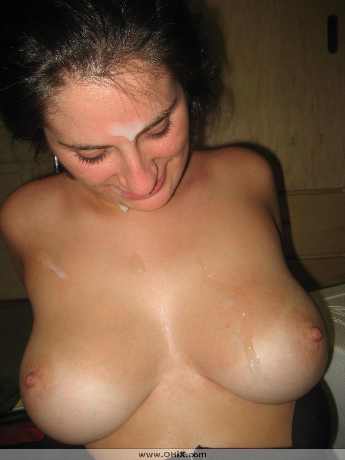 Русская жена принимает в груди 10 фотография
